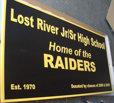 FA15614 - Large Wall Sign for Senior/Junior High School