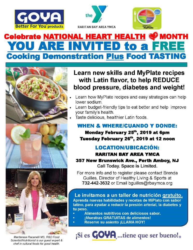 Free Cooking Demo at the Y!