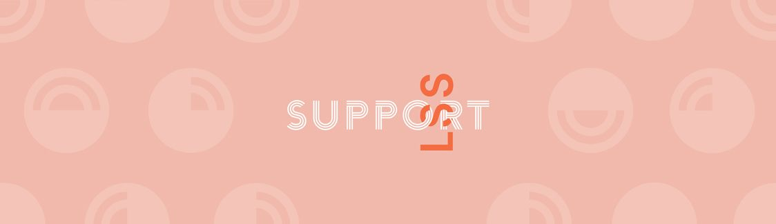 Graphic: LSS Interlocking with the word Support.