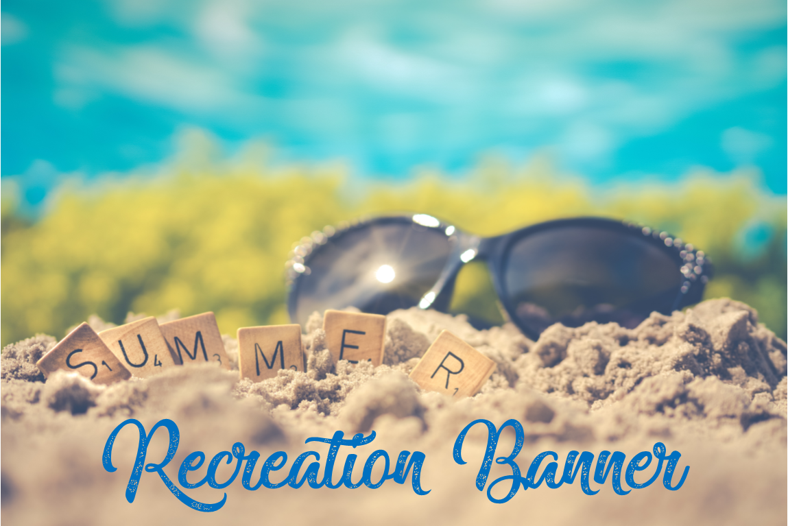 Summer Recreation Banner