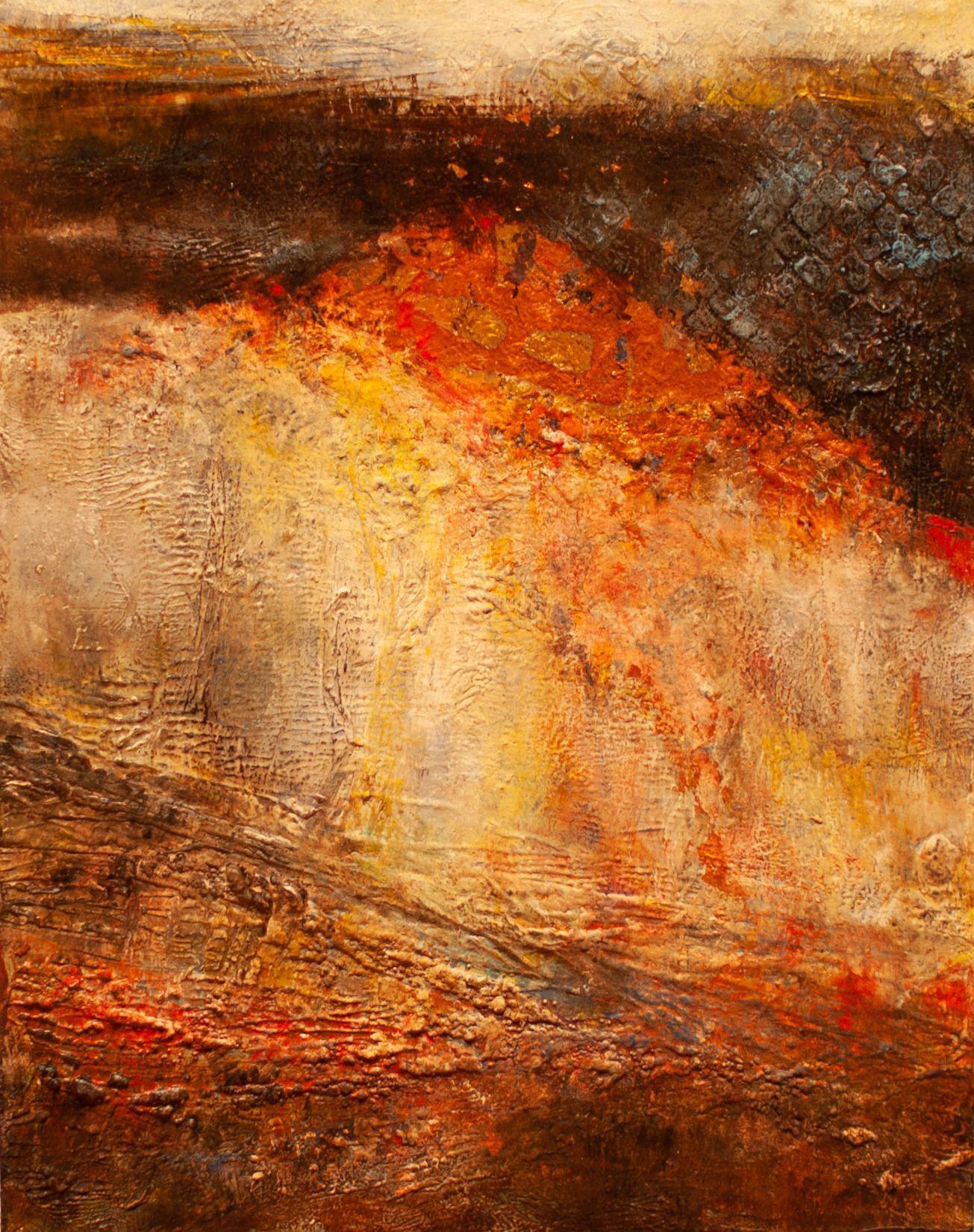 "Sandy Shepard - ""Volcanic Explosion"""