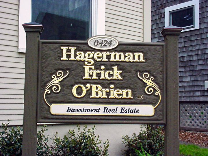 Hagerman Monument Sign