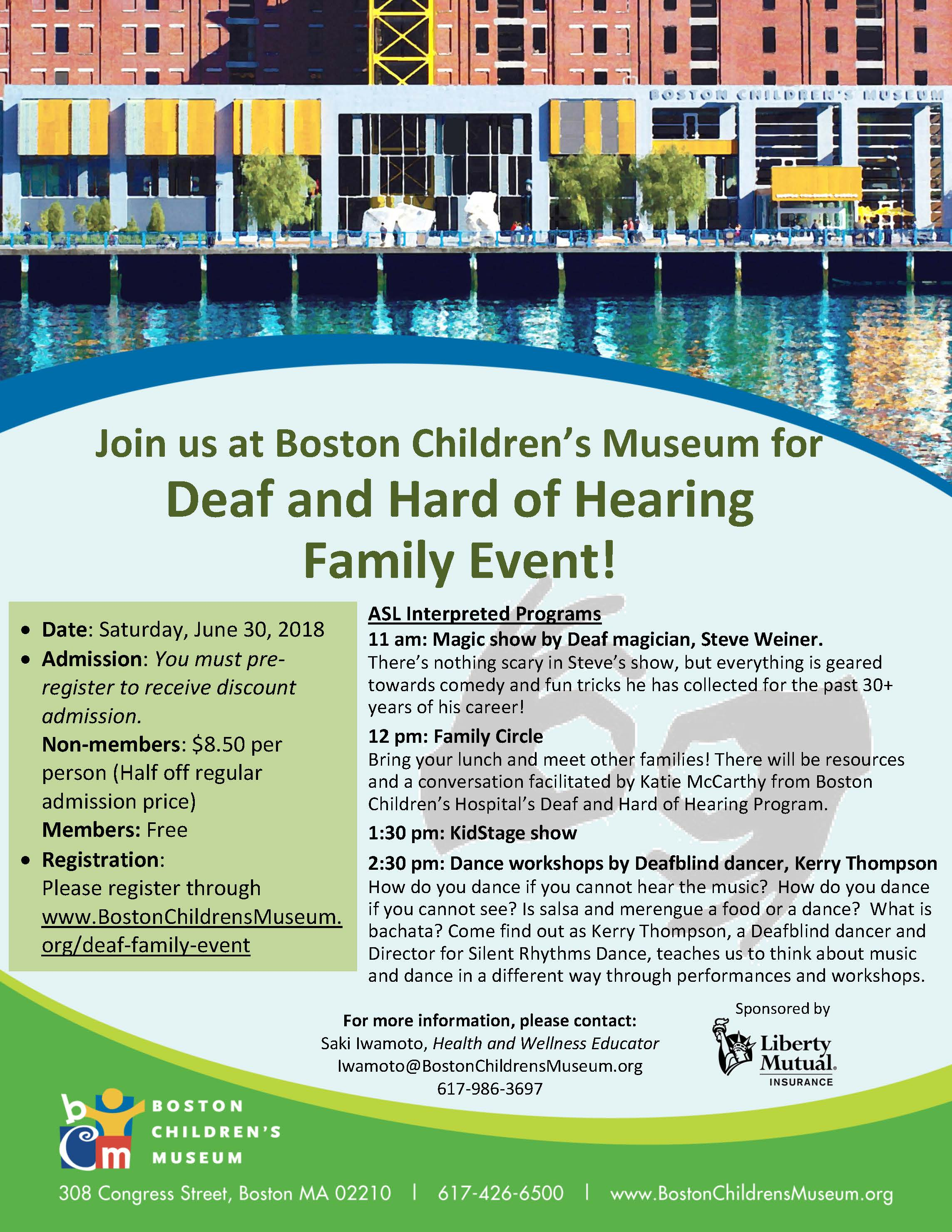 Family Event at Boston Children's Museum