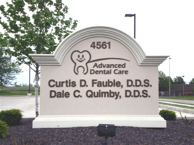 BA11502- Dental Office Monument Sign