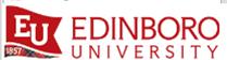 Edinboro University - field placements