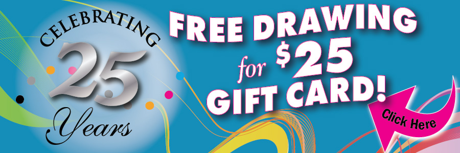 Free Drawing $25 for Gift Card