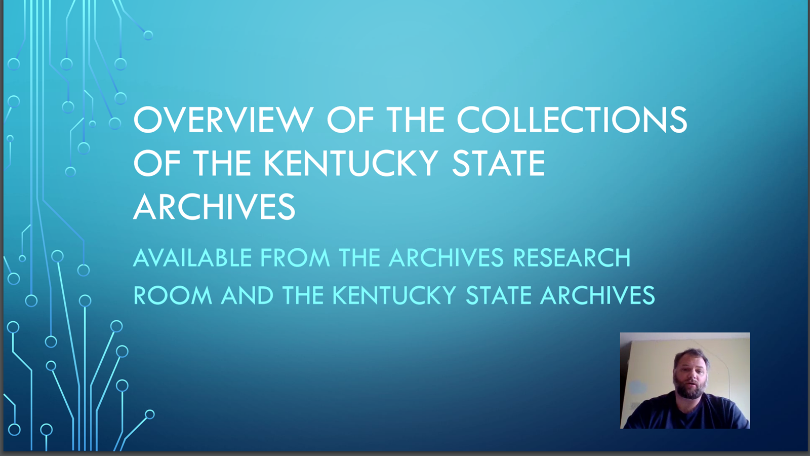 Researching in the KY Archives
