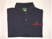 Farm Rescue Embroidered Polo