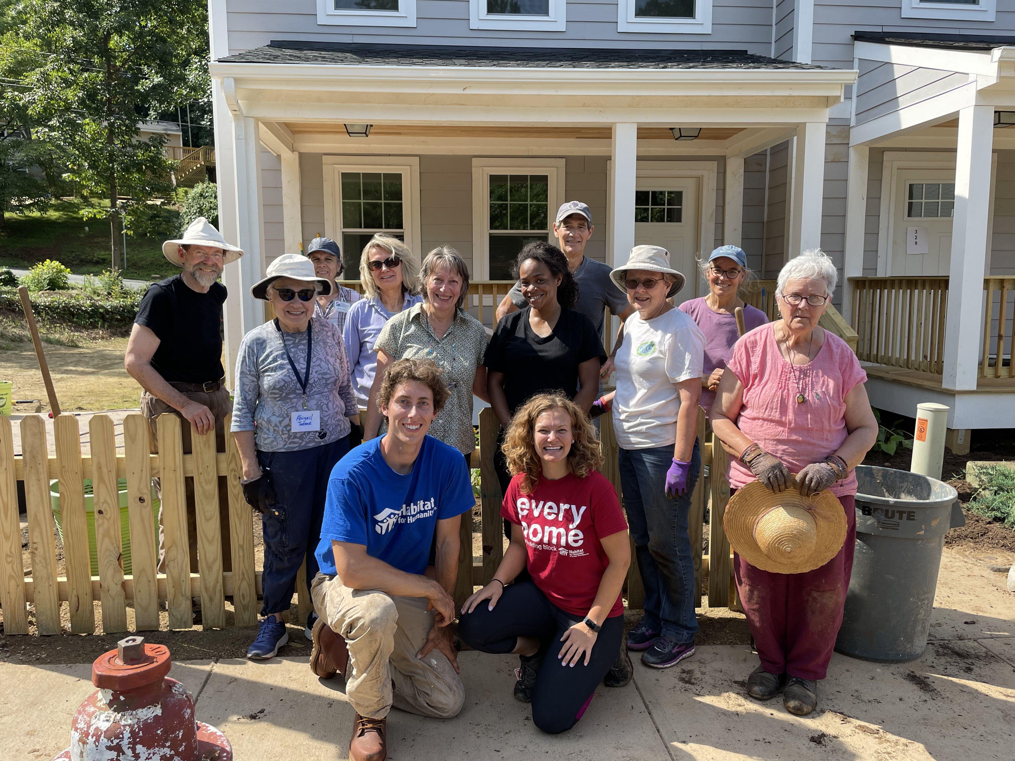Habitat for Humanity partnering with Piedmont Master Gardeners