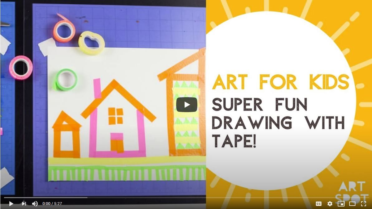 Drawing With Tape