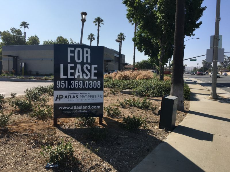 Commercial Property For Lease Signs with Anti-Graffiti Coating | Anaheim CA