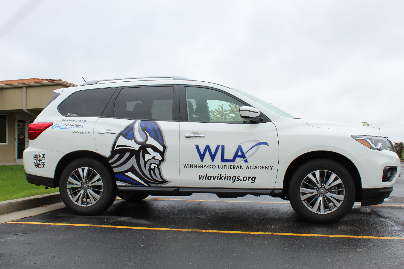 WLA Vehicle Wrap