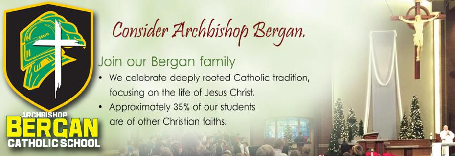 Consider Archbishop Bergan
