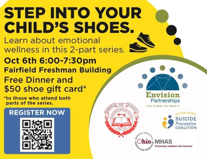 Step Into Your Child's Shoes- 2 Part Series