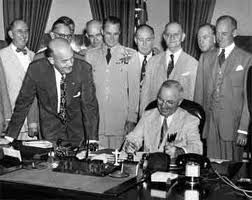 1947: National Security Act Passed.