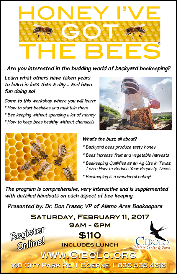 "CNC:  ""Honey, I've Got the Bees"" workshop"