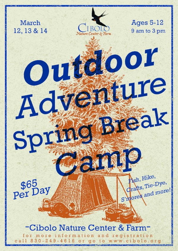 CNC: Spring Break Outdoor Adventure Camp 2018
