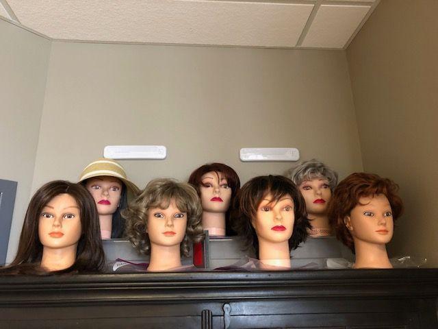 Display Wigs