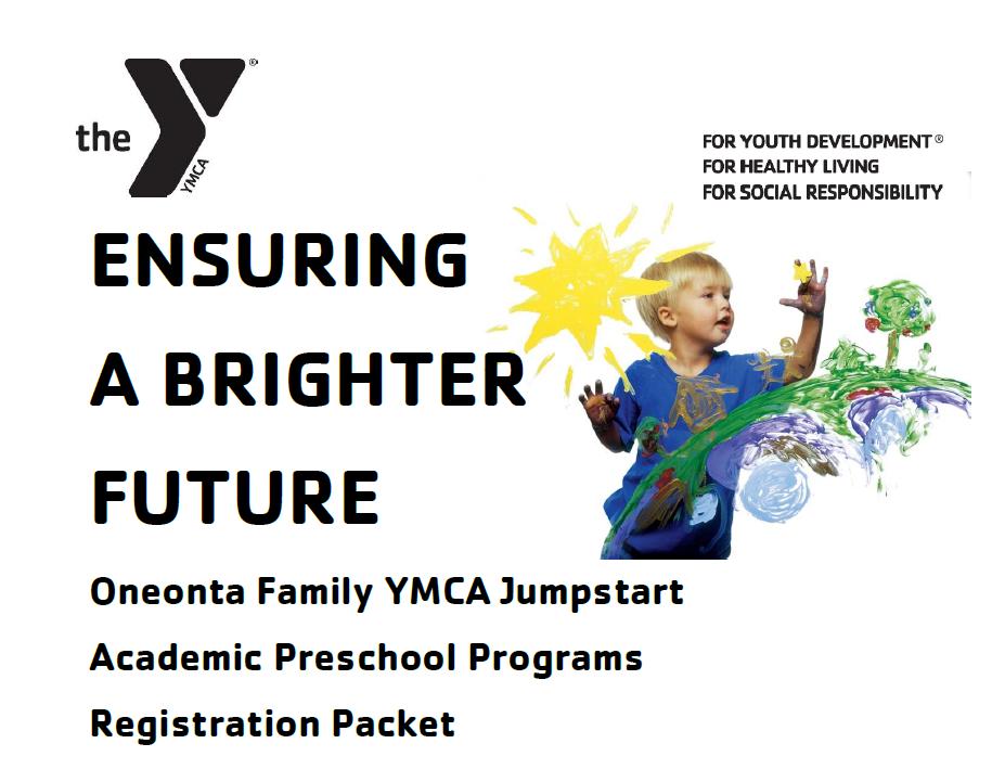 Jumpstart Preschool Oneonta Registration 2019-2020