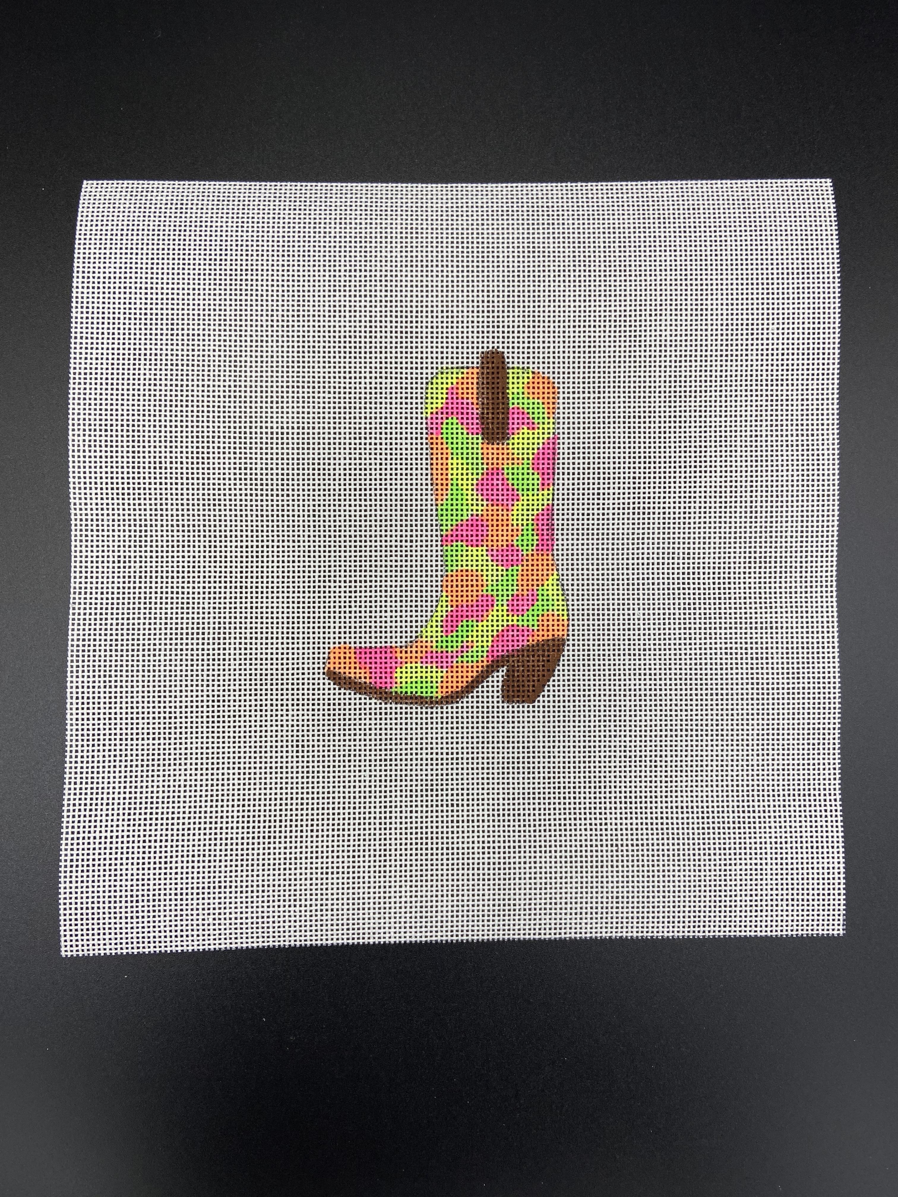 Neon Camo Boot