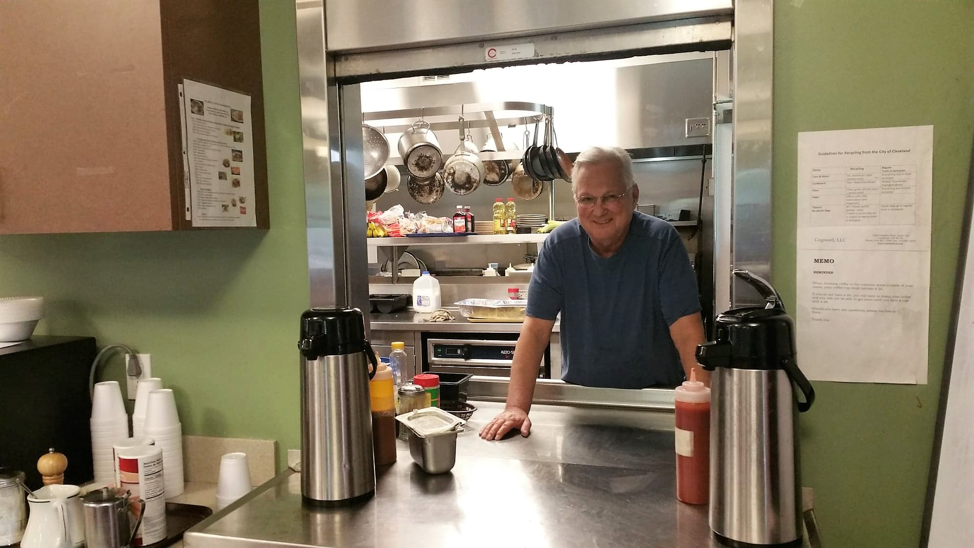 Retired world traveler now shares skills in Cogswell's kitchen