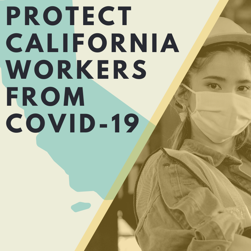 As Virus Cases Surge Around the State,  California Workers Gain Sweeping New Workplace Protections from COVID-19