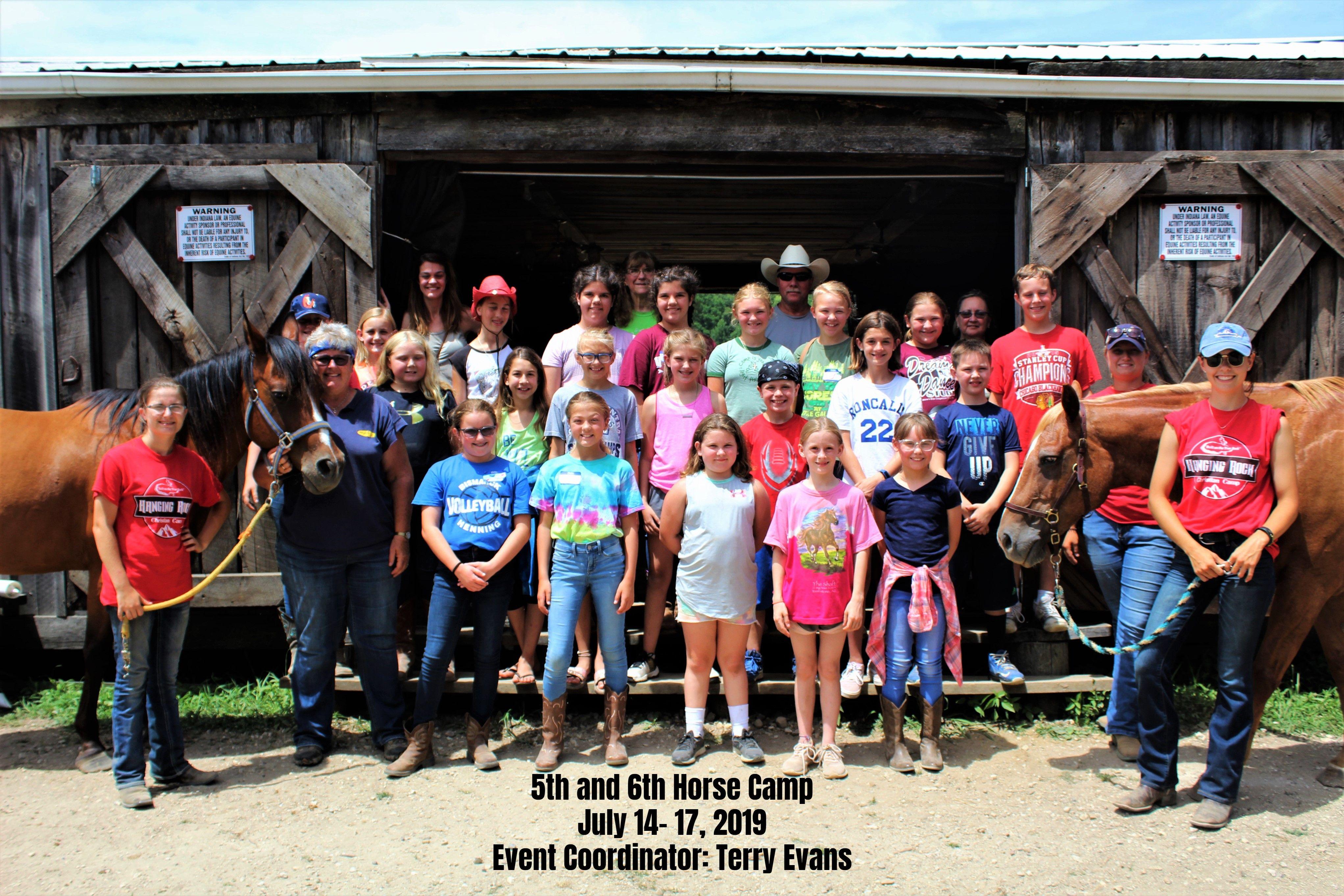 5th & 6th Grade Horse