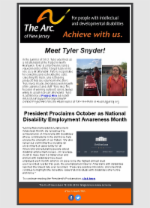 National Disability Employment Awareness Month - Week 3