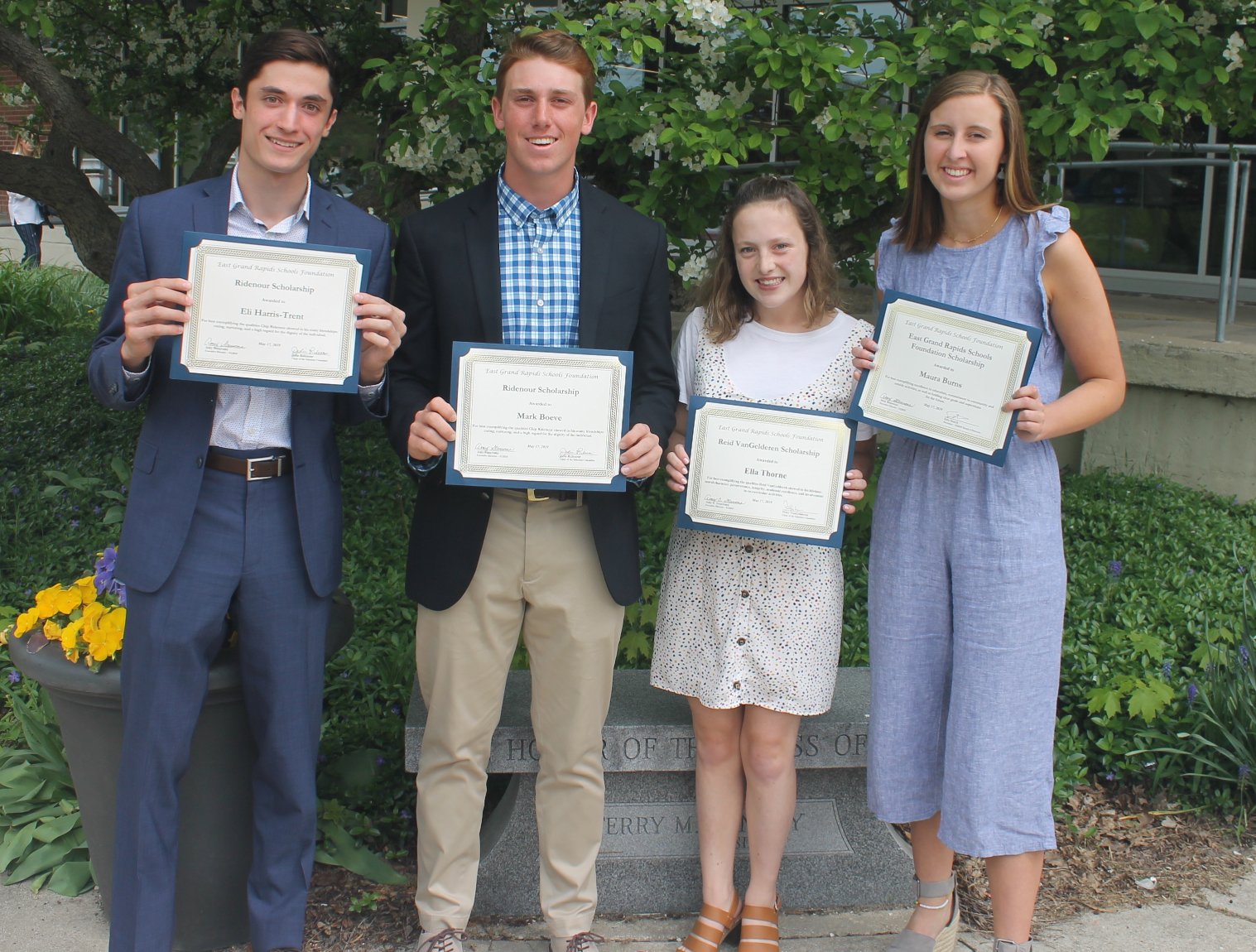 2018 Foundation Scholarship Recipients