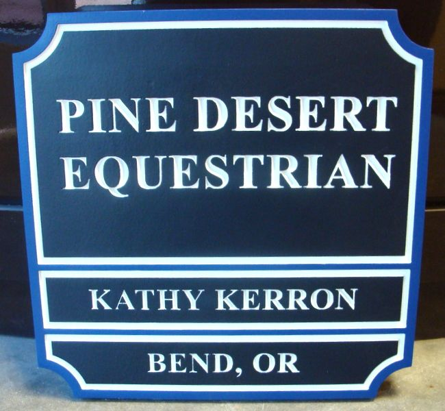 "P25046 - Equestrian Sign ""Pine Desert"""
