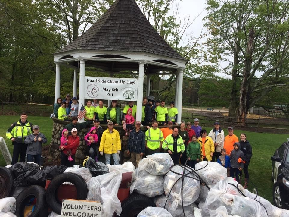 Volunteers Remove 136 Tons of Trash & Litter