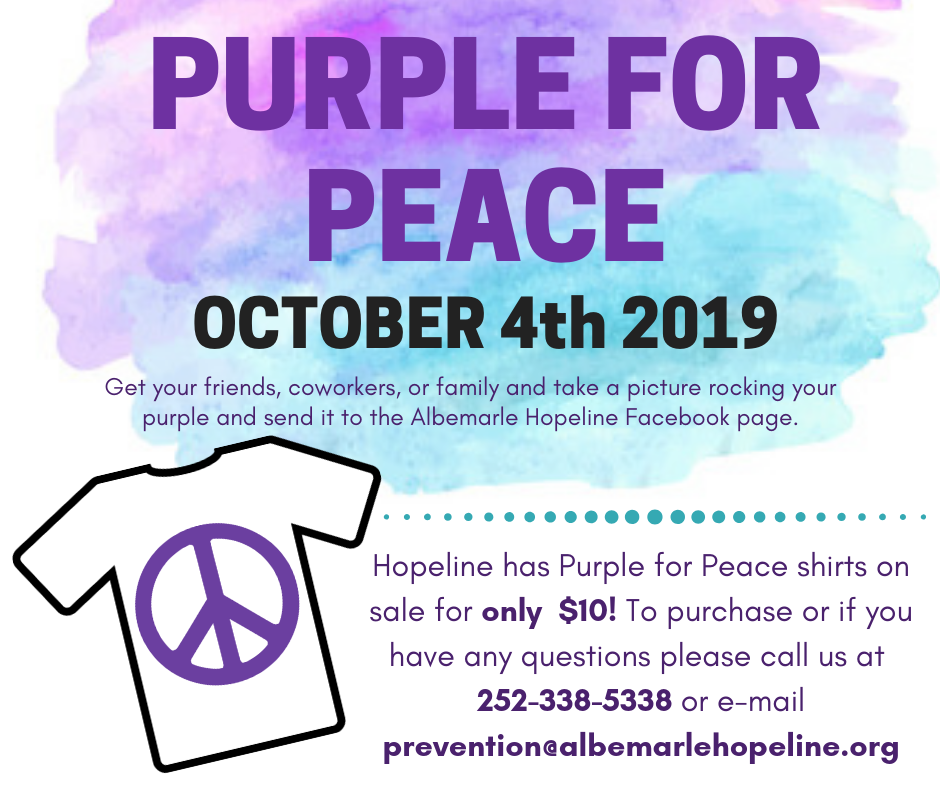 Purple for Peace