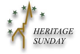 Heritage Sunday June 27th