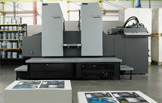 Heidelberg Speedmaster SM 74 2- Color perfecting press