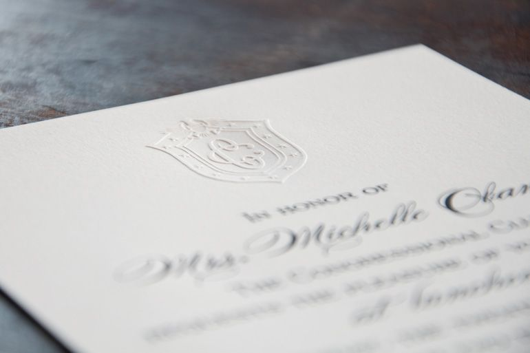 First Lady Luncheon Invite