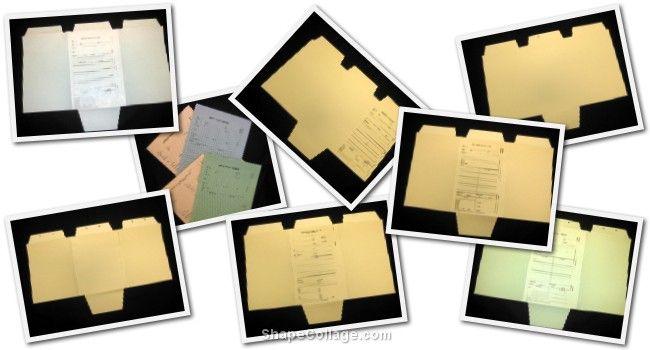 Patent/Trademark Folders
