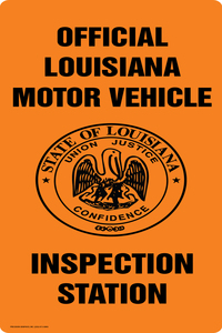 Precision graphics inc homepage gallery pages for Motor vehicle inspection station