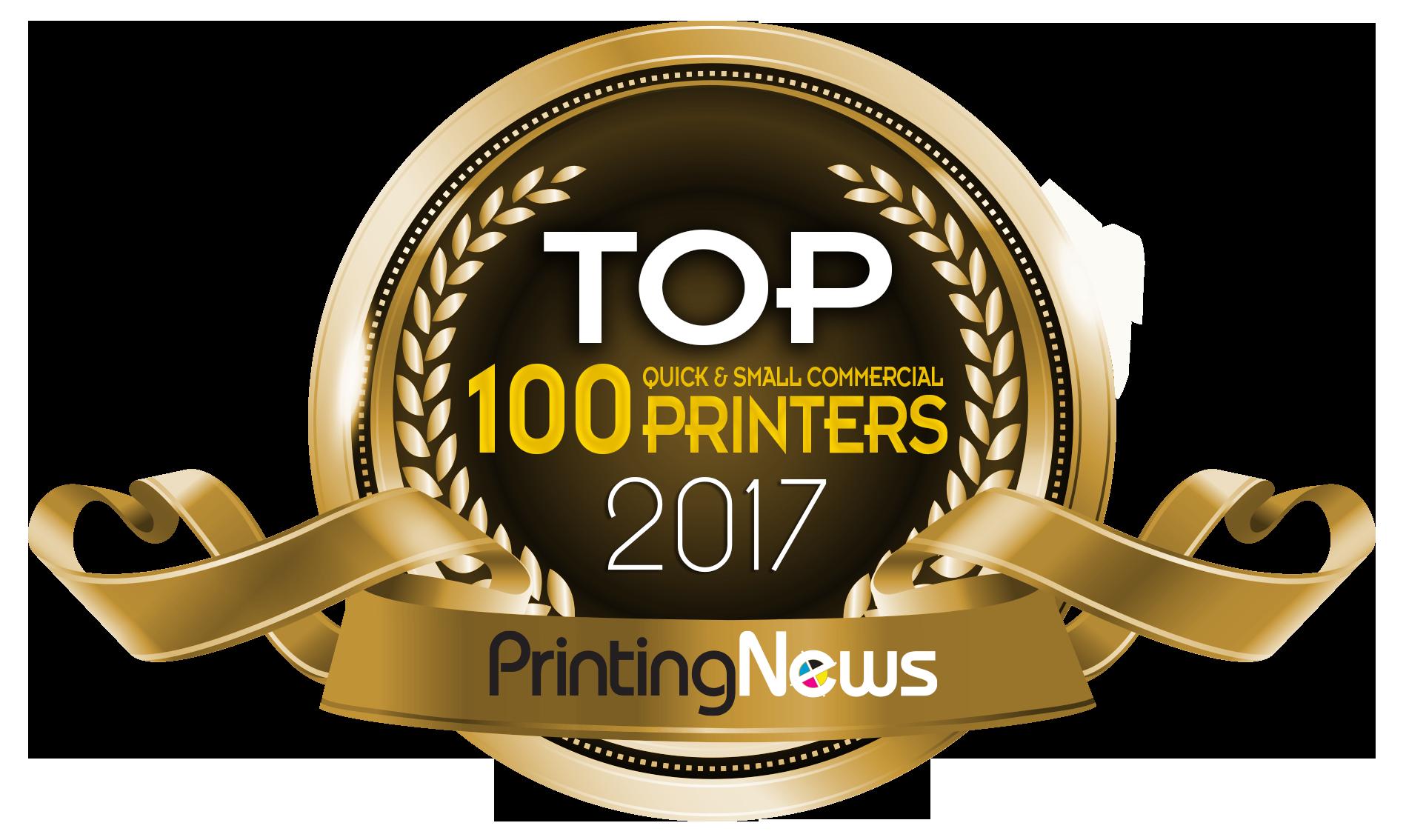 2017 Top 100 printer