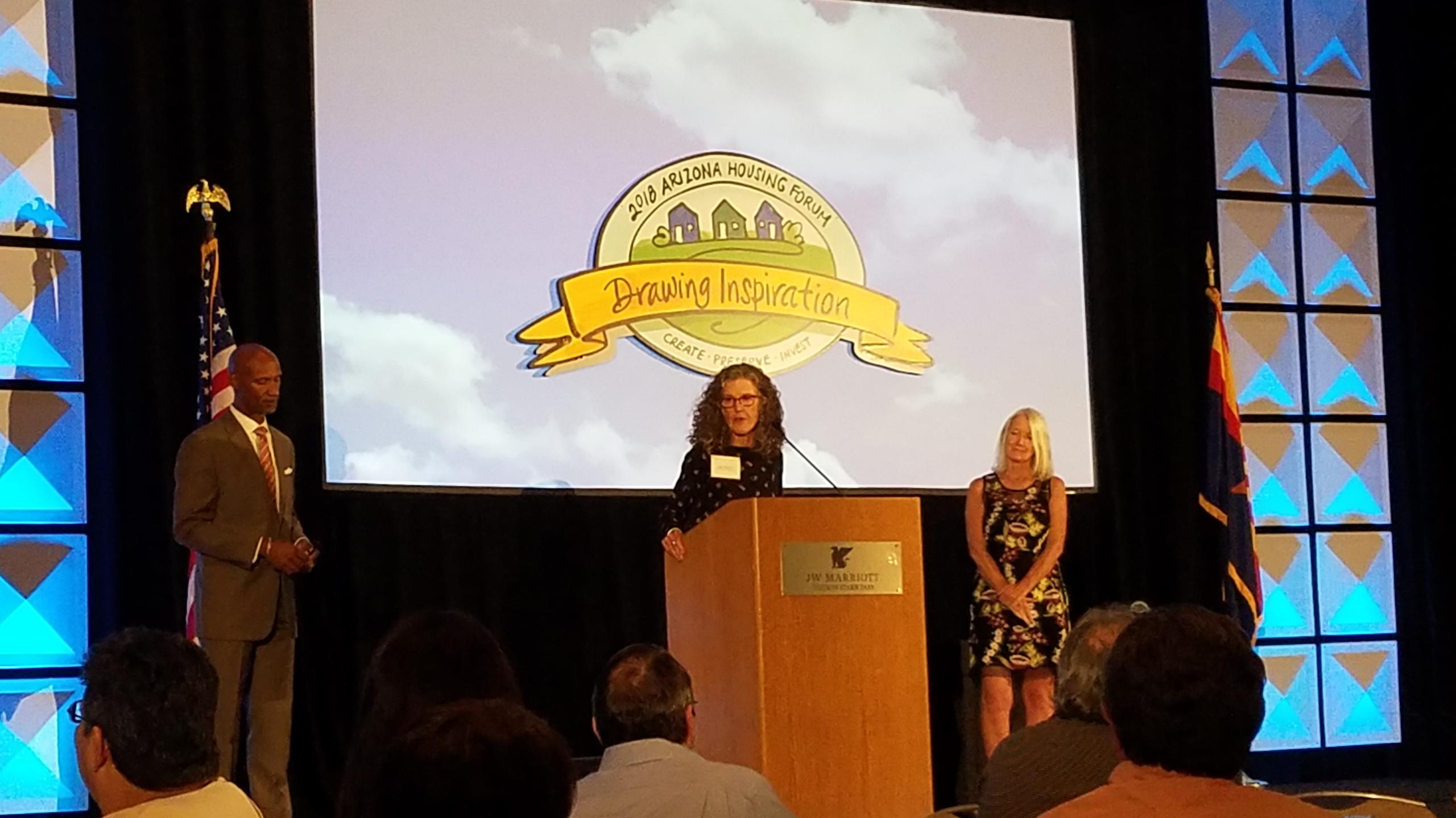 Primavera CEO Receives AZ State Housing Hero Award