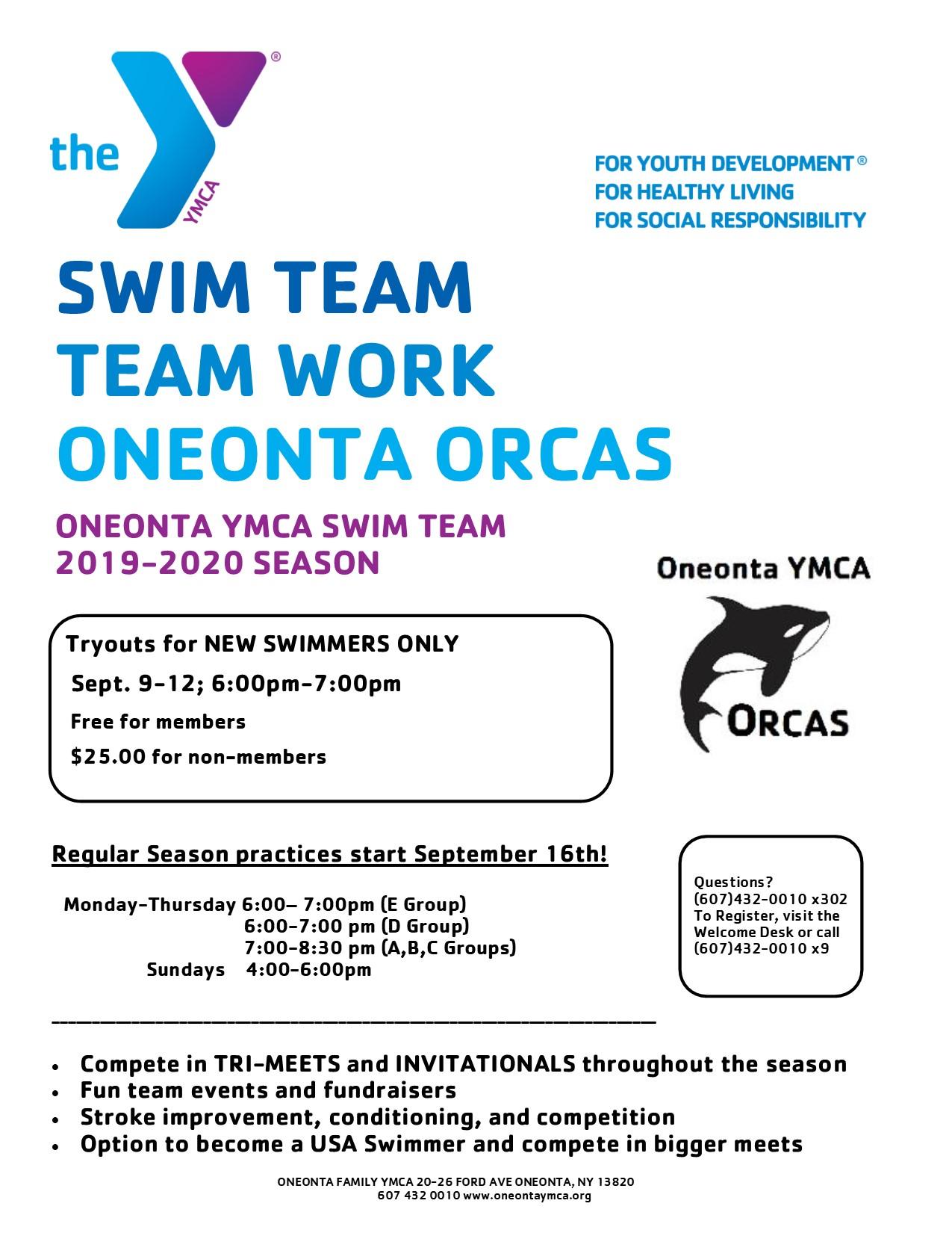 2019-2020 Orca Flyers