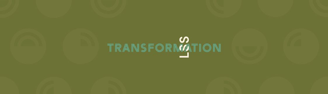 Graphic: LSS Interlocking with the word Transformation.