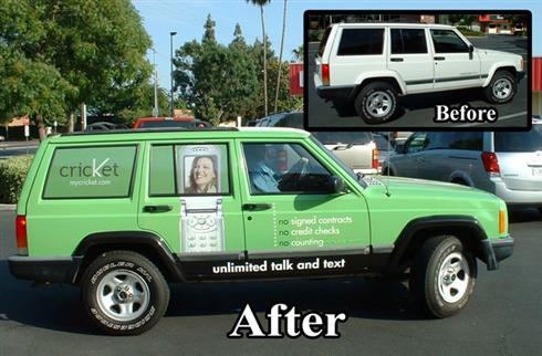 Before & After Jeep Wrap