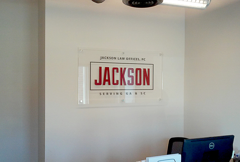 Jackson Law Firm Acrylic