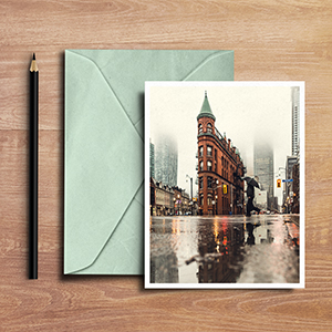 Request an estimate for printing and mailing notecards.