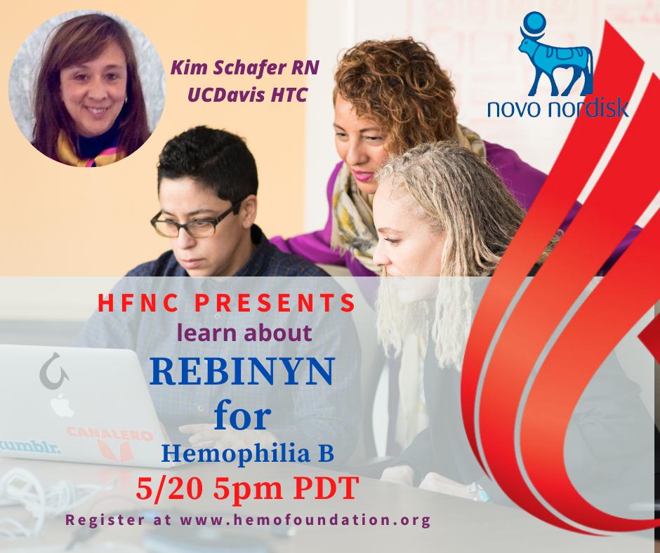 Learn about REBINYN for Hemophilia B Webinar