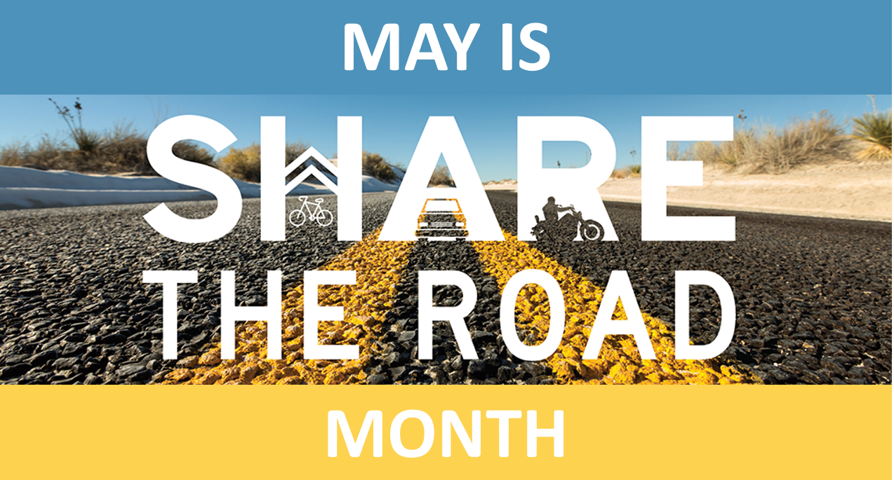 May Is Share The Road Month