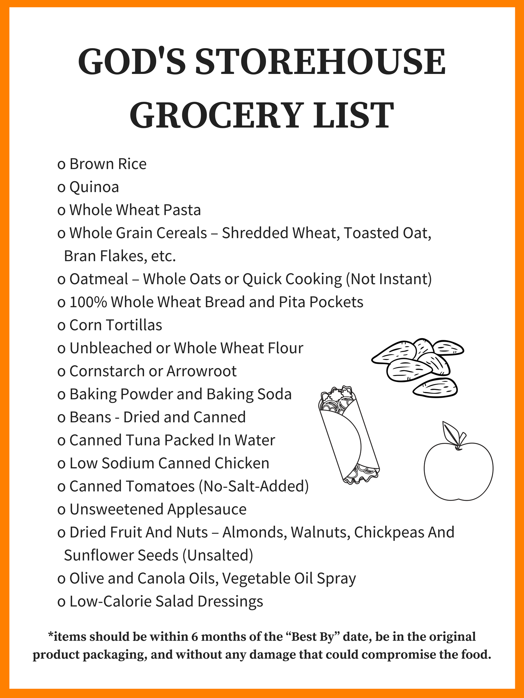 Heart Healthy Food List
