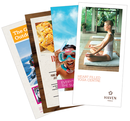 Trifold Brochures or Menus