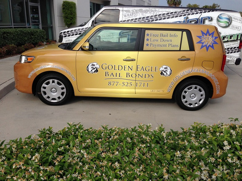 Bail Bond Vehicle Wraps Orange County