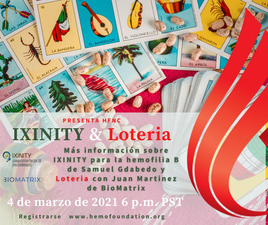 IXINITY & Loteria